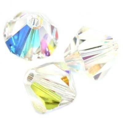 Swarovski bicone Crystal AB 3 mm
