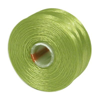 S-lon bead cord tex 45 chartreuse