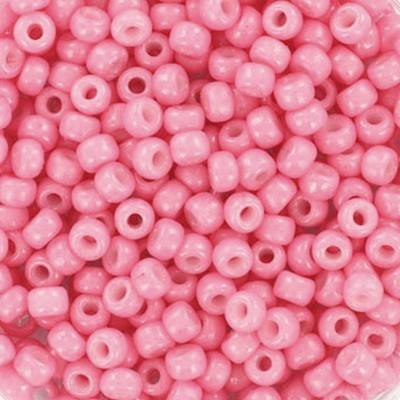 koraliki Miyuki round duracoat opaque carnation 8/0 #8-4467