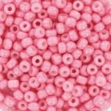 Perles Miyuki round duracoat opaque carnation 8/0 #8-4467