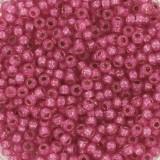 Miyuki round beads duracoat silverlined dyed flamingo 11/0 #11-4239