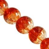 perles de crépitement orange 10 mm