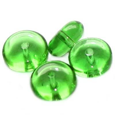 krążki zielone 10 mm