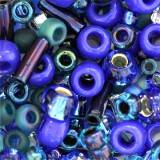 koraliki Toho multi-shape/color mix mahou- blue/green mix 2 – 4 mm TX-01-3224
