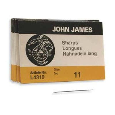 John James needles sharps #11