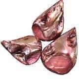 masa perłowa łezki ametystowe 2.5-4 cm