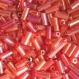 rurki czerwień 4.5 mm / koraliki drobne