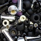 perline Toho multi-shape/color mix yozora- jet/silver mix 2 – 4 mm TX-01-3225