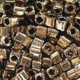 Toho beads cube bronze 1.5 mm TC-01-221