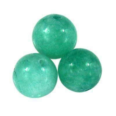 round jade azure 6 mm
