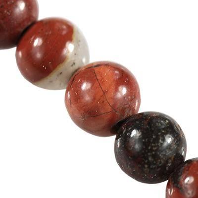 kule czerwony jaspis 4 mm kamień naturalny