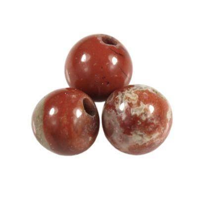 czerwony jaspis 4 mm kamień naturalny