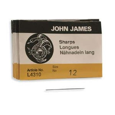 John James needles sharps #12
