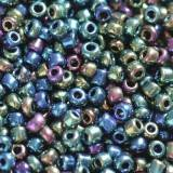glass seed beads navy mix 2 mm
