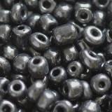 koraliki czerń 3.5 mm