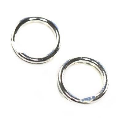argento 925 anelli 5 mm