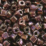 Toho beads cube bronze dark bronze 1.5 mm TC-01-222 beads perline Toho cube bronze dark bronze 1.5 mm TC-01-222
