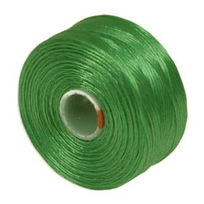 nici S-LON D Tex 45 0.11 mm green - nić do beadingu