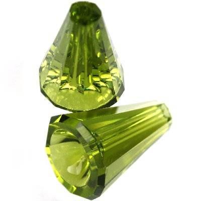 Swarovski artemis beads olivine 12 mm