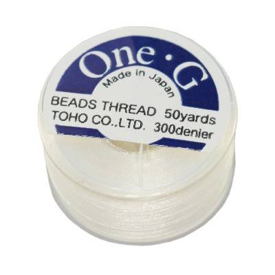 Toho thread One-G white PT-50-1