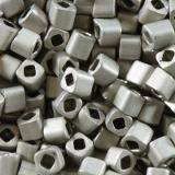 Toho beads cube metallic frosted antique silver 1.5 mm TC-01-566