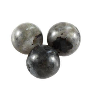 round larvikite bead 8 mm
