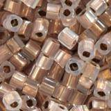 Toho beads cube copper-lined alabaster 1.5 mm TC-01-741