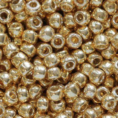 Toho perler permafinish - galvanized starlight 2.2 mm TR-11-PF557
