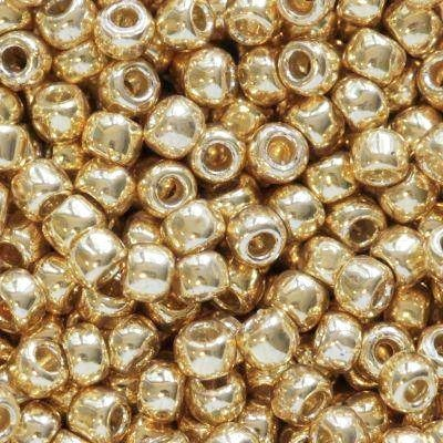 Toho beads round permafinish - galvanized starlight 2.2 mm TR-11-PF557