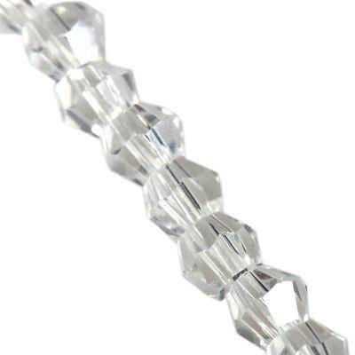 Crystaline toupies revêtues de lune 2 mm / perles de cristal