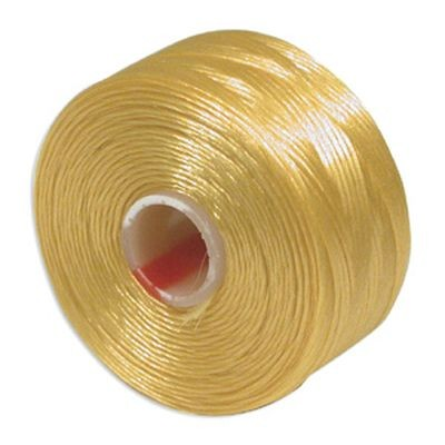 S-lon bead cord tex 45 gold yellow