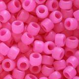 Toho beads round ceylon frosted hot pink 3 mm TR-08-910F