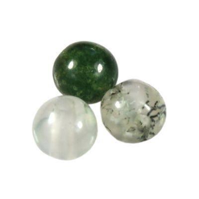 kule agat mszysty 4 mm kamień półszlachetny naturalny
