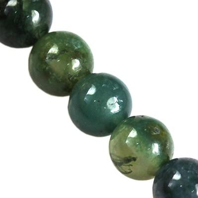 agat mszysty 4 mm kamień półszlachetny naturalny