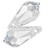 Swarovski drop Crystal 15 x 7.5 mm
