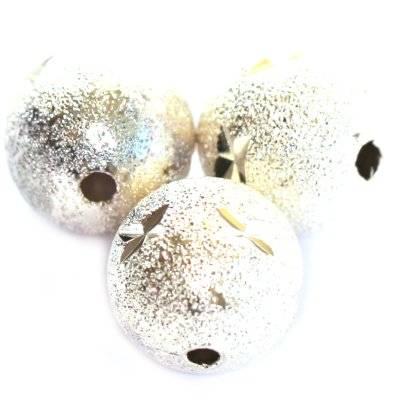 boules neigeuses étoiles 12 mm