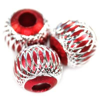 boules d'aluminium bourgognes 14 mm