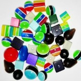 Mega pack polyresin beads 8-20 mm