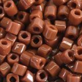 Toho beads cube opaque terra cotta 3 mm TC-03-46L