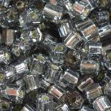 Toho beads hex silver-lined gray 2.2 mm TH-11-29B