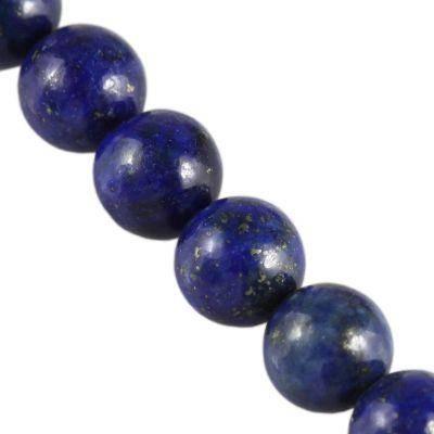 lapis lazuli natural beads 6 mm / semi-precious stone