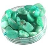 russian amazonite premium chips 5 - 9 mm / semi-precious stone