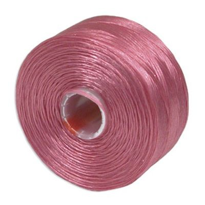 S-lon bead cord tex 45 light orchid