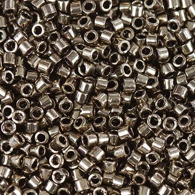 koraliki Miyuki Delica metallic dark bronze 1.6 x 1.3 mm DB-22