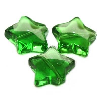 gwiazdki zielone 12 mm