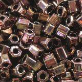 Toho beads hex bronze dark bronze 2.2 mm TH-11-222