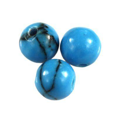 round turquoise 5 mm