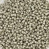 Miyuki round beads galvanized silver 11/0 #11-1051