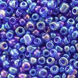 glass seed beads corn flower blue mix 2 mm