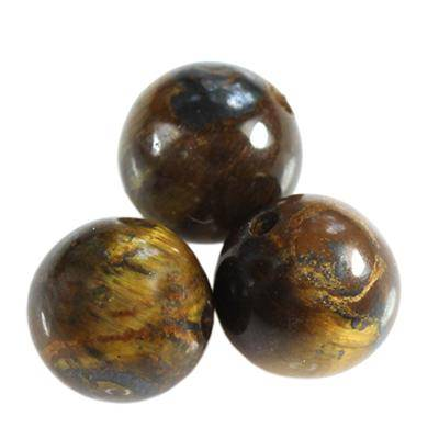 round beads tiger eye 10 mm